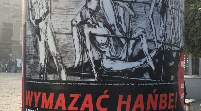 """Eröffnung der Wanderausstellung """"ÉcraseR L'Infâme"""" am 24.10.2019 im MOCAK (Museum of Contemporary Art), Krakau"""