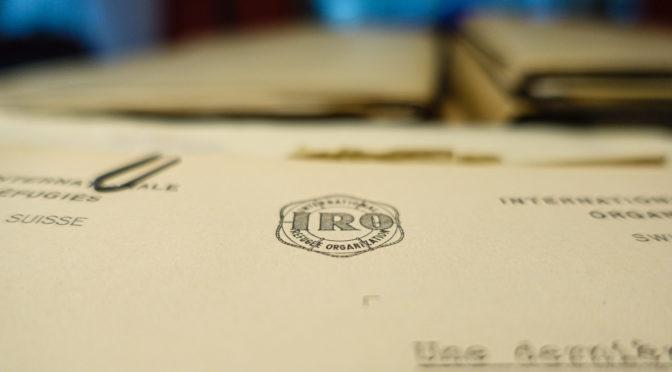 Recherche zur IRO und der Verhandlung von Migration nach dem 2. Weltkrieg in den Archives Nationales, Paris